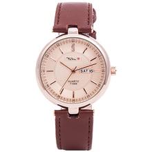 TADA brand Luxury Brand Genuine Leather Strap Analog Casual women wristwatch japan quartz movement lady watch relogio masculino