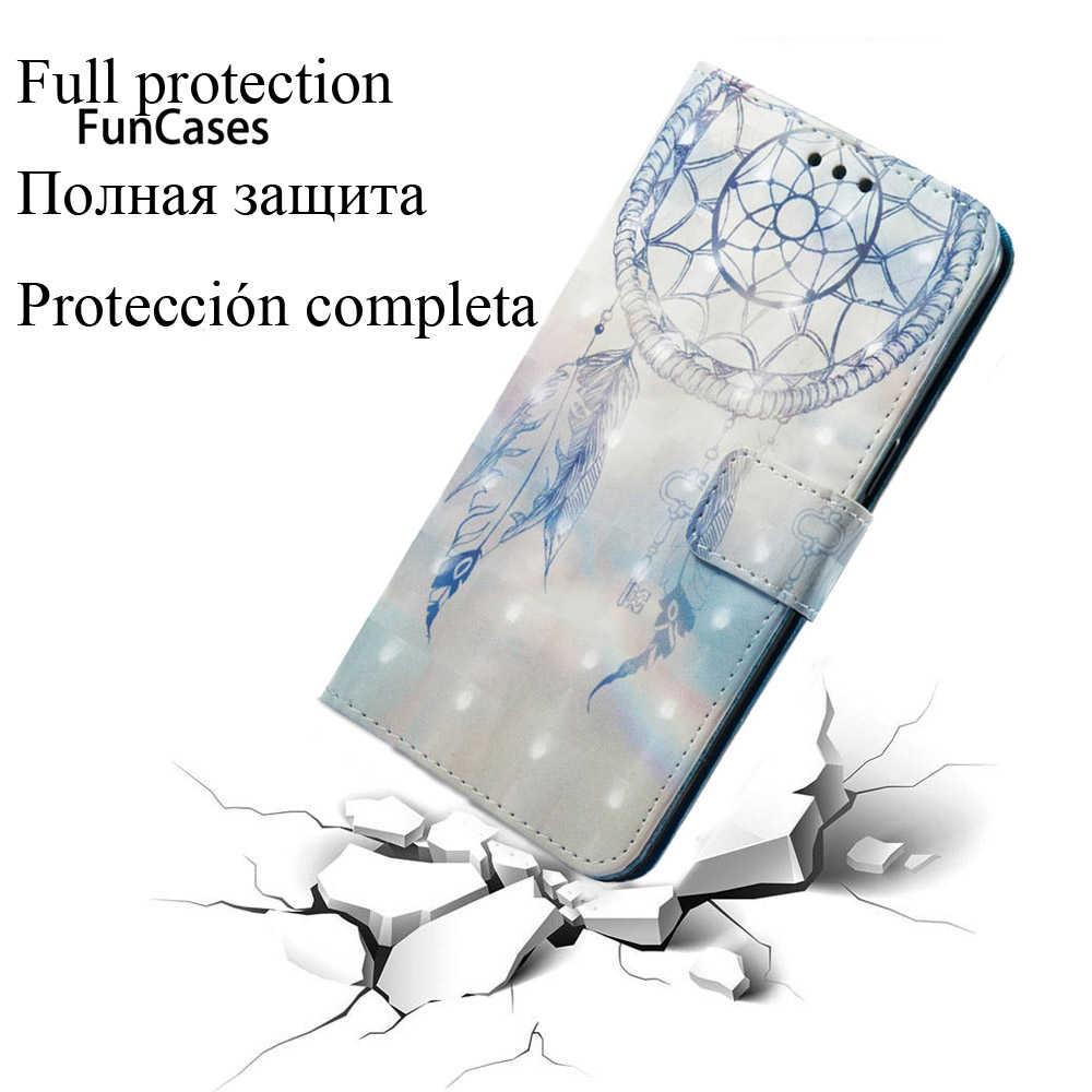 """أغلفة ثلاثية الأبعاد لهاتف BBK Vivo Y66 32GB 2017 PU أغلفة جلدية لهاتف Vivo Y66L 5.5 """"أغلفة مزدوجة الشريحة محفظة من البولي يوريثان إسكان كامل"""