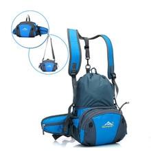 HUWAIJIANFENG outdoor sports bag mens single shoulder mountaineering genuine waterproof riding goods women