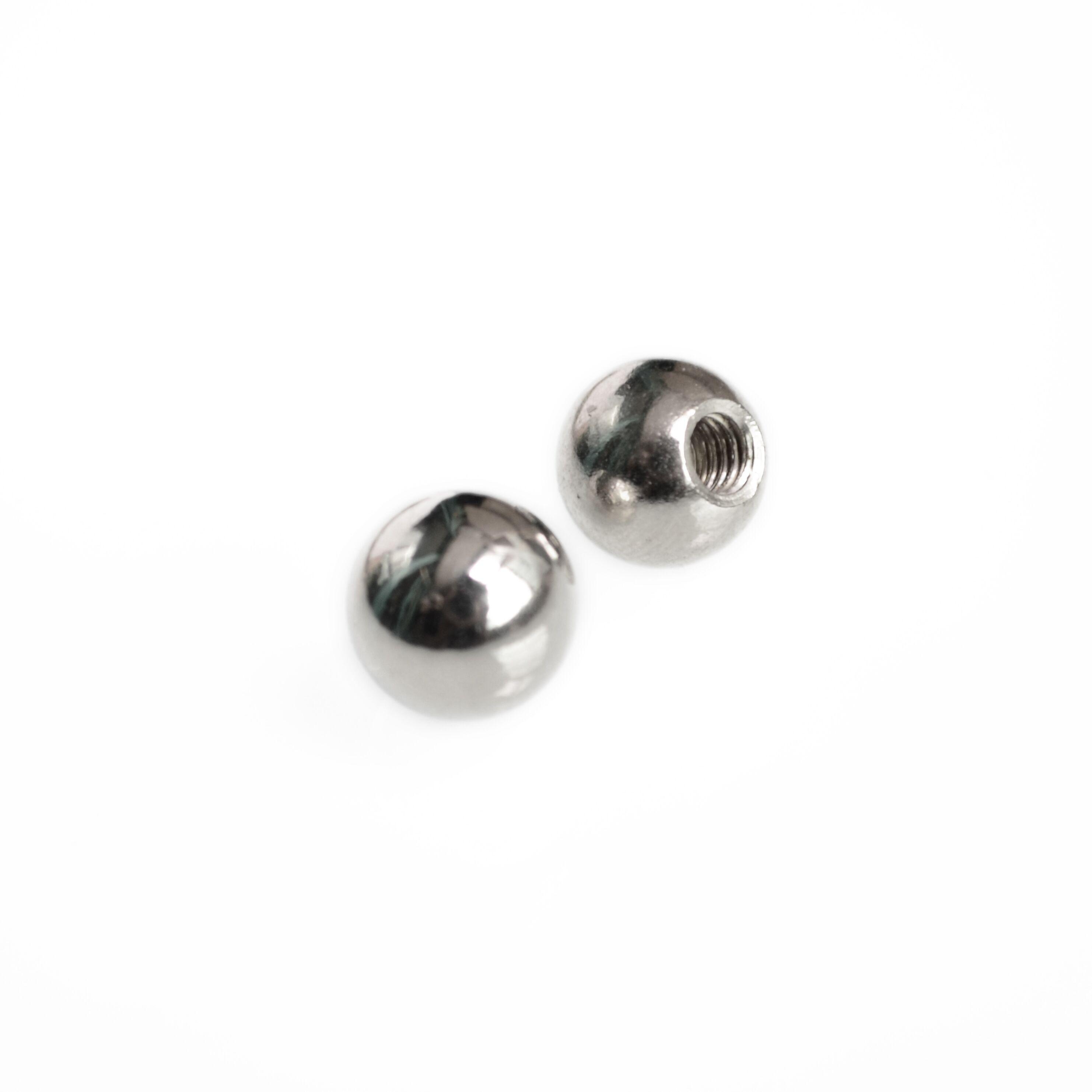16Pcs /Φ10 M4 Threaded Steel Ball Rod Ends for Kossel 3D Printer Joints Threaded Ball Joint Stainless Steel Threaded Ball Threaded Balls