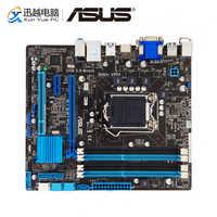 Asus B75M-PLUS Scheda Madre Desktop B75 Socket LGA 1155 Per i3 i5 i7 DDR3 32 GB SATA3 USB3.0 DVI Micro ATX originale Usato Scheda Madre