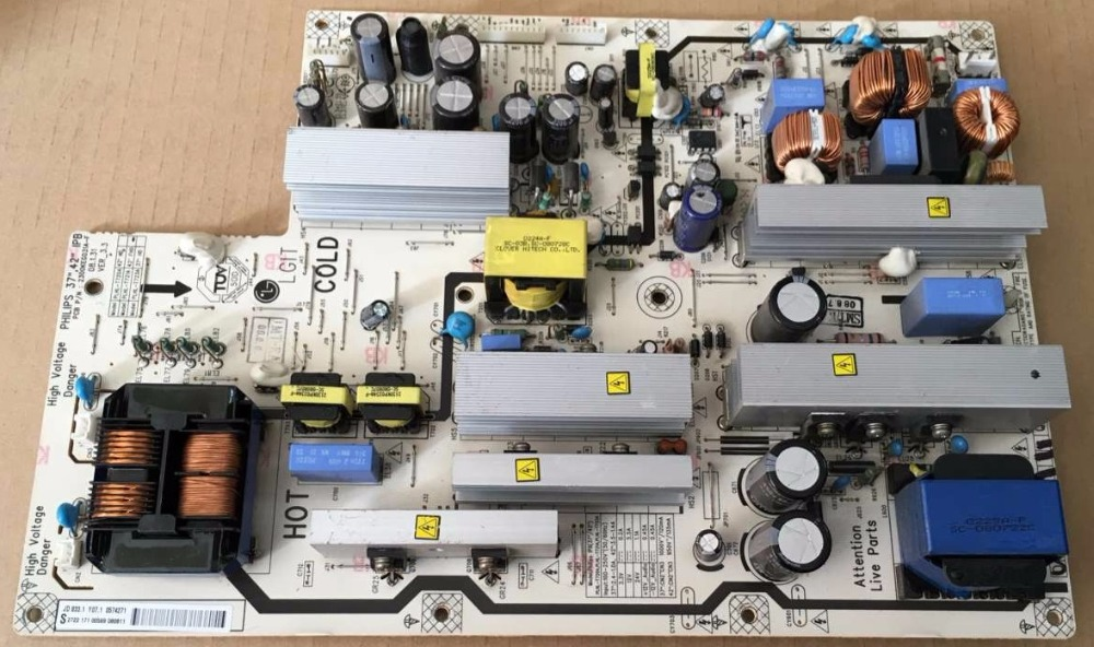 42PFL5403 power panel PLHL-T721A 2300KEG031A-F is used 42pfl9509 power panel 2300kpg109a f is used