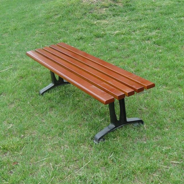 € 240.52 |Parc chaises en plein air salon chaise en bois en fonte banc de  jardin conservateur cellulaire dans Patio Bancs de Meubles sur ...