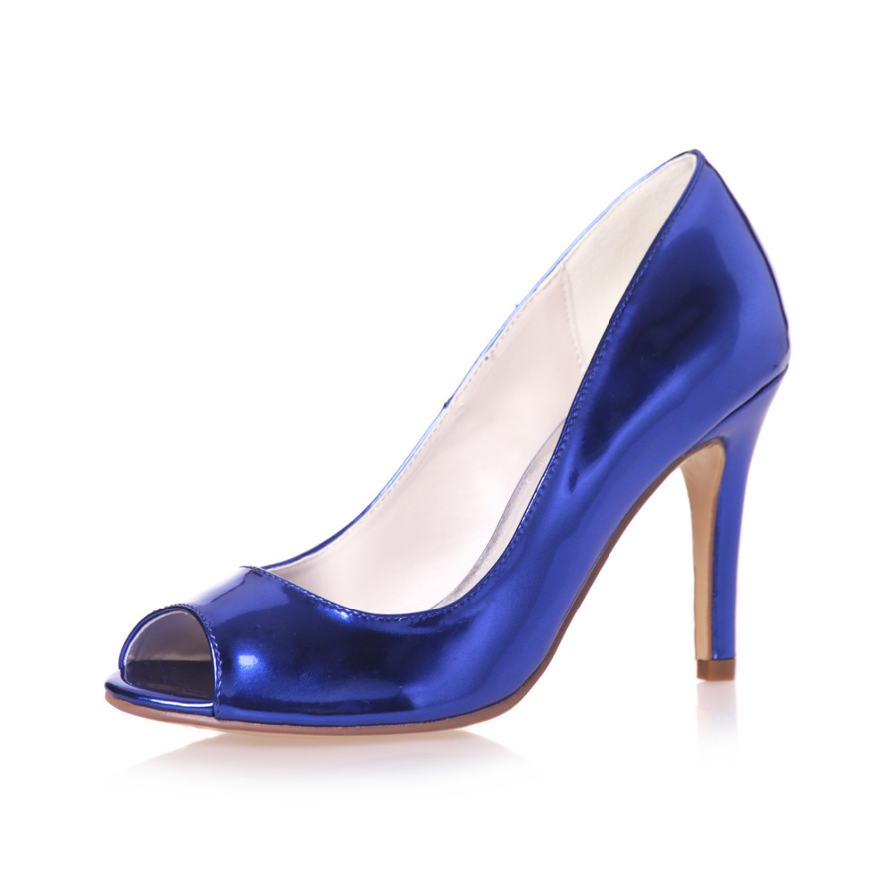 Metallic Blue Heels Promotion-Shop for Promotional Metallic Blue