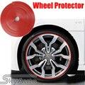 Llantas de Rueda De coche Protector de TPE 8 m/Roll Car Styling Rueda Pegatina
