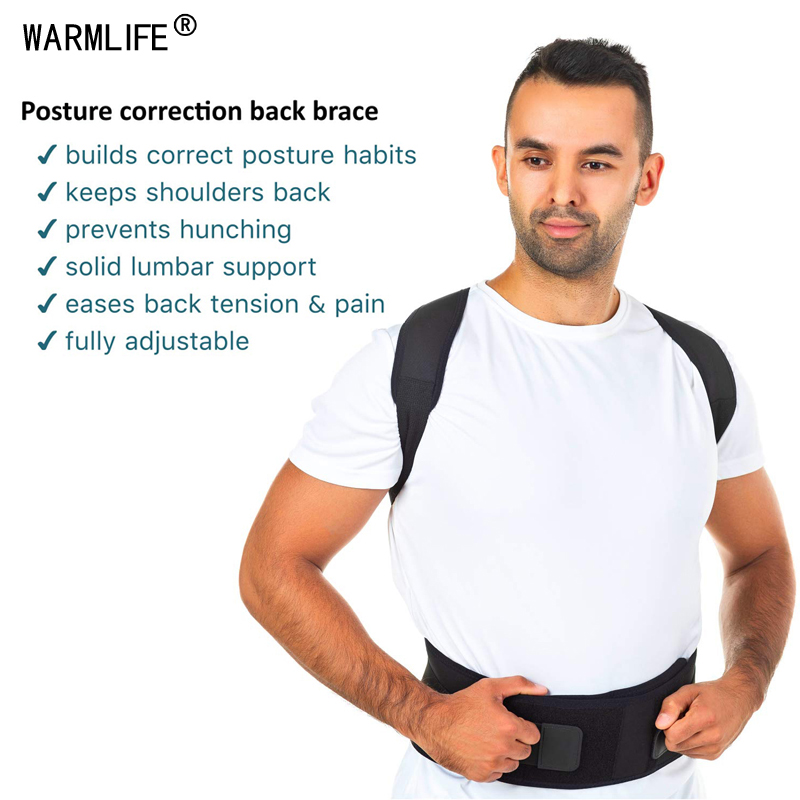 Image 2 - Magnetic Posture Corrector Therapy Brace Shoulder Back Support Belt for Men Women Braces & Supports Belt Shoulder Posture-in Braces & Supports from Beauty & Health