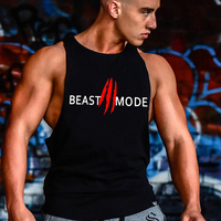 2018 Brand Casual vest men musculation Summer Cotton Fit Men Tank Tops Clothing Bodybuilding Undershirt Golds Fitness man M-2XL 1