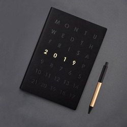 Agenda 2019 Pianificatore Organizzatore Diario A5 Notebook Divisori Settimanale Mensile di Viaggio Personale Diario Journal Carino Affari Nota Libri