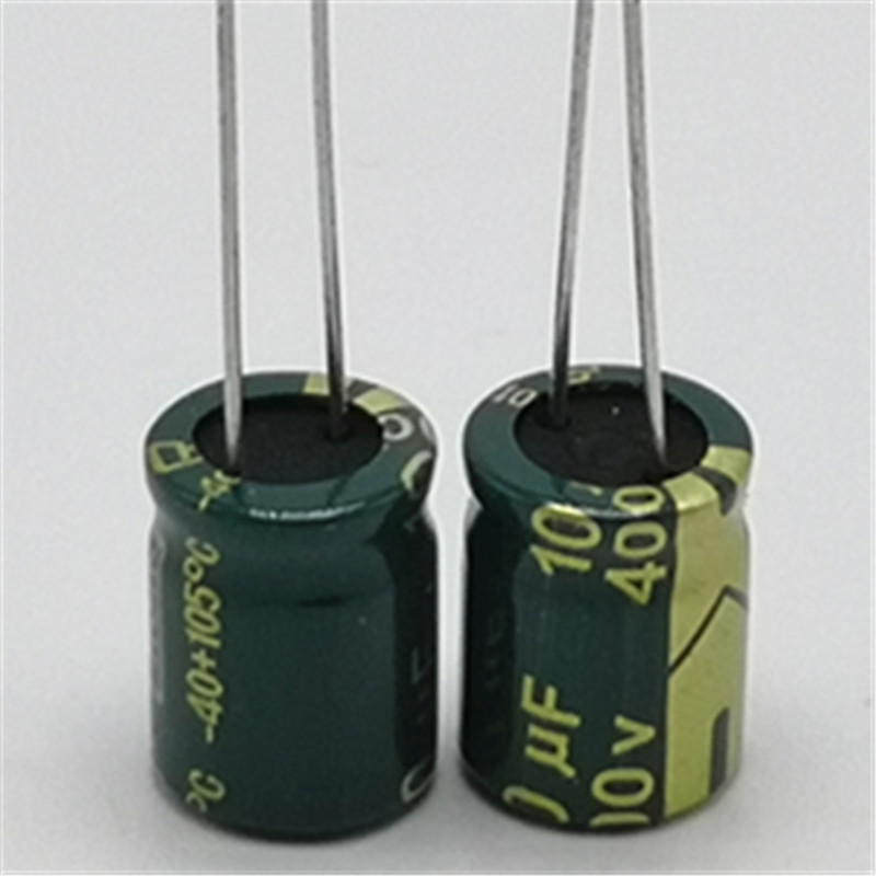 12pcs/lot 400V 10uf high frequency low impedance 20% RADIAL aluminum electrolytic capacitor 10000NF12pcs/lot 400V 10uf high frequency low impedance 20% RADIAL aluminum electrolytic capacitor 10000NF
