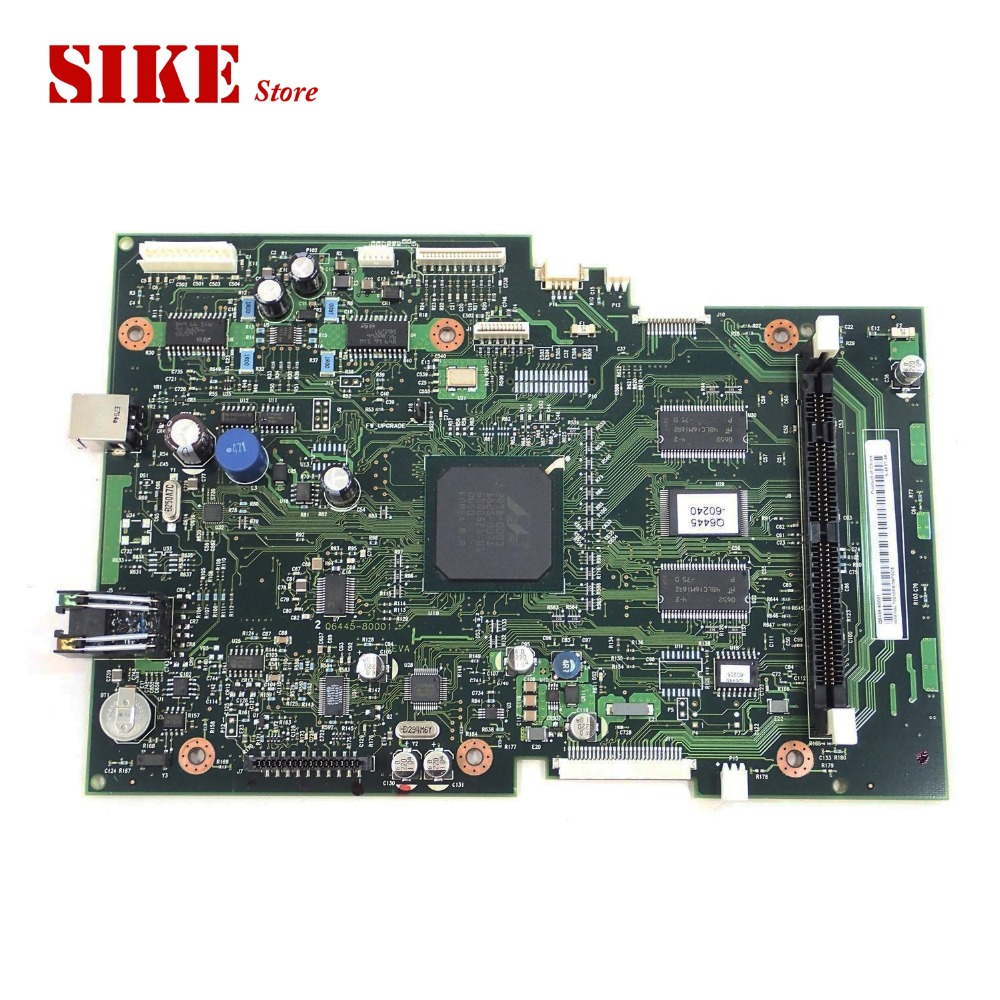 Q6445-60001 Logic Main Board Use For HP 3390 3392 HP3390 HP3392 Formatter Board Mainboard q1857 60001 logic main board use for hp laserjet 5100 hp5100 formatter board mainboard