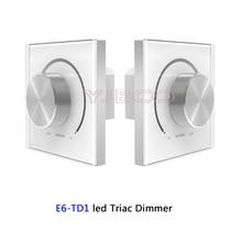 E6-TD1 AC 220-240V Wall Mount Knob led Triac Dimmer High Voltage LED Light Incandescent Lamp Halogen Lamp