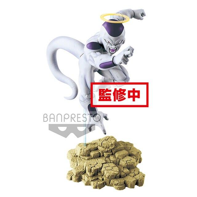 Figura de Ação Banpresto Originais Tronzo Freeza Dragon Ball Super Tag Lutadores Frieza Figura Coleção PVC Modelo Brinquedos Figuras