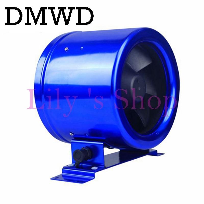 8 inch kitchen bathroom exhaust fan DC variable frequency pipeline fan 200P ventilating fan cabin air-ventor EU US plug