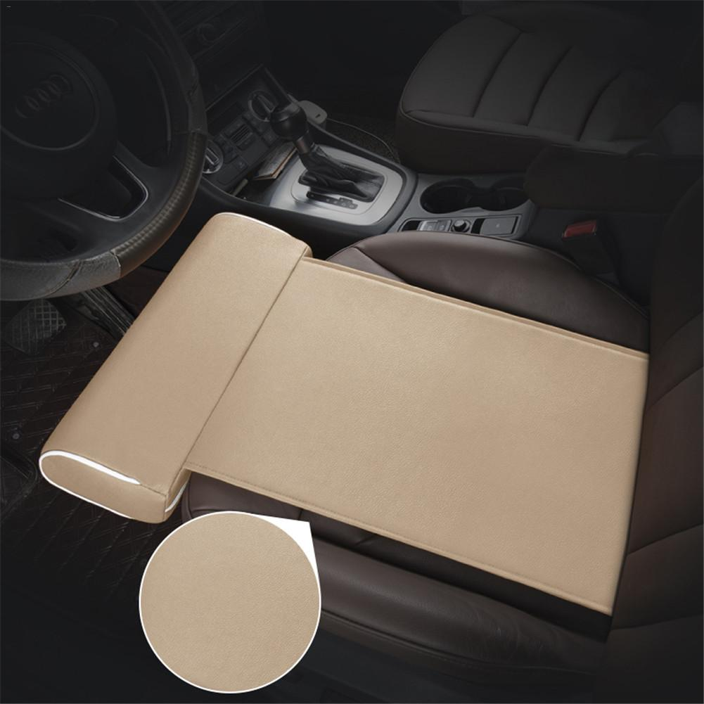 Universal Car Seat Extension Cushion Foot Support Pillow Leg Car Seat Cushion Leather Knee Pad Thigh Support Pillow Interior