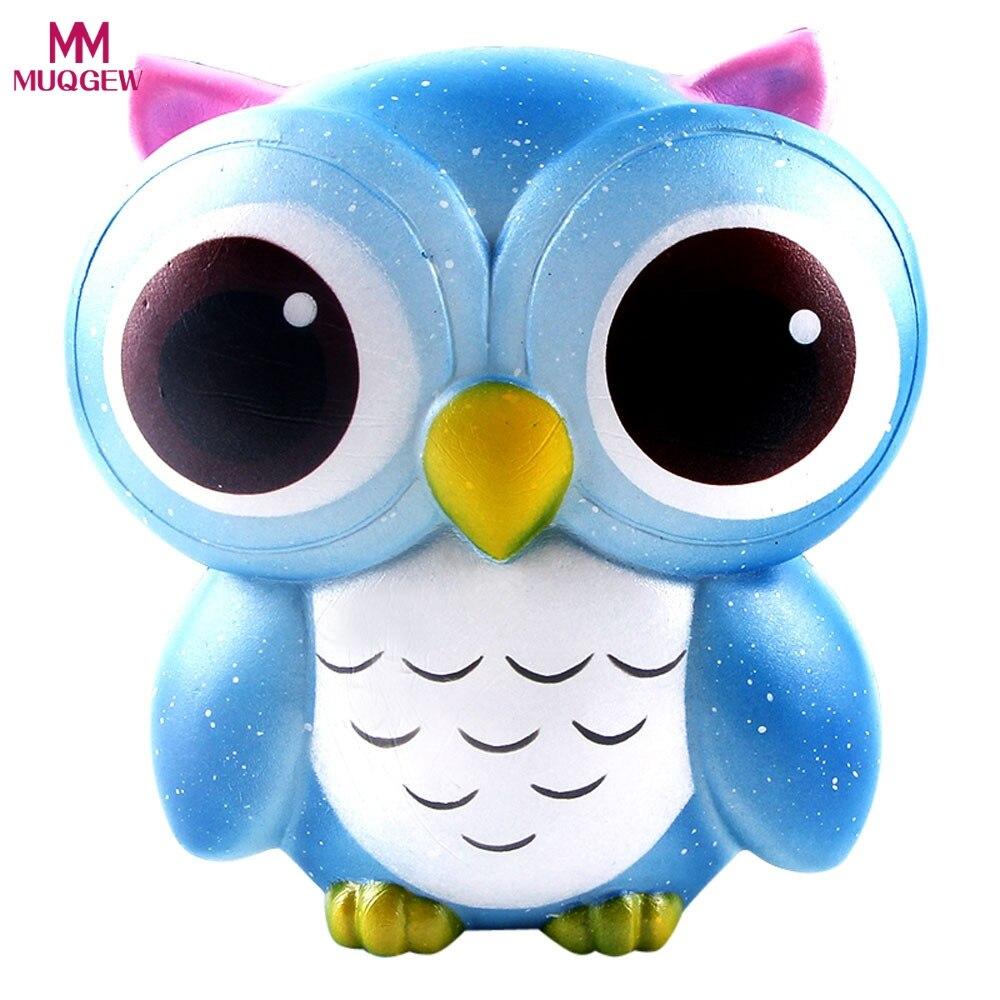 Lovely Nette Kawaii Eule Squishy Langsam Steigenden Galaxy Creme Duftenden  Dekompression Squeeze Spielzeug Beste Ostern Party Geburtstagsgeschenk Für  Kinder