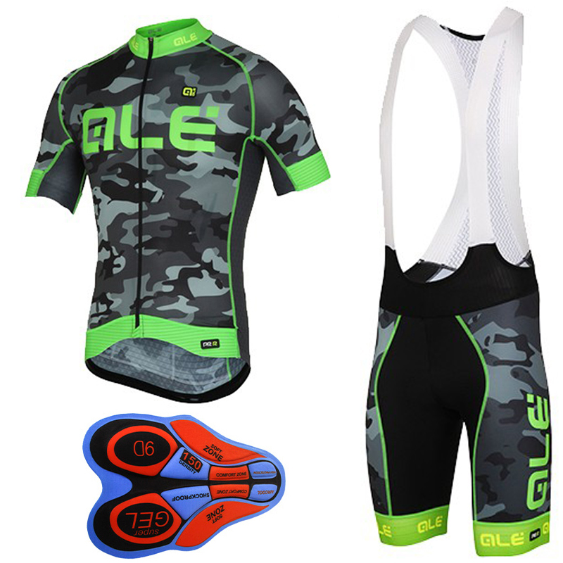 2017 pro team ale cycling clothing short sleeve cycling jersey set quick-dry mountain bike clothes breathable bicycle wear E0401 summer sports cycling clothes men s cycling jersey sets breathable quick dry mountain bike sports wear for spring women new