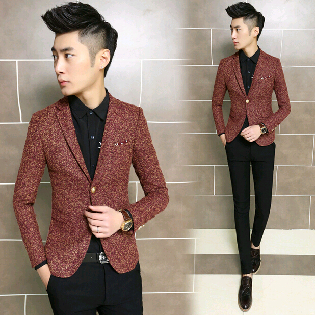 Popular Wool Blazer Men-Buy Cheap Wool Blazer Men lots from China ...