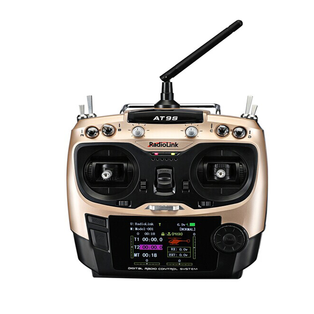 F18528 Радио ссылка at9s 2.4 г 10ch DSSS FHSS передатчик r9ds 9CH приемник Радио контроллер S-bus ШИМ для RC Heli MultiCopter автомобиль ...