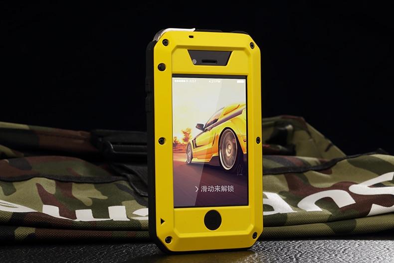 HTB1u0YNeYGYBuNjy0Foq6AiBFXau Heavy Duty Protection Doom armor Metal Aluminum phone Case for iPhone 11 Pro Max XR XS MAX 6 6S 7 8 Plus X 5S 5 Shockproof Cover