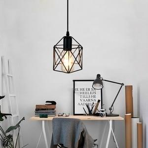 Image 5 - American rustic industrial  kitchen island lamp cafe hanging light modern lighting fixtures Minimalist