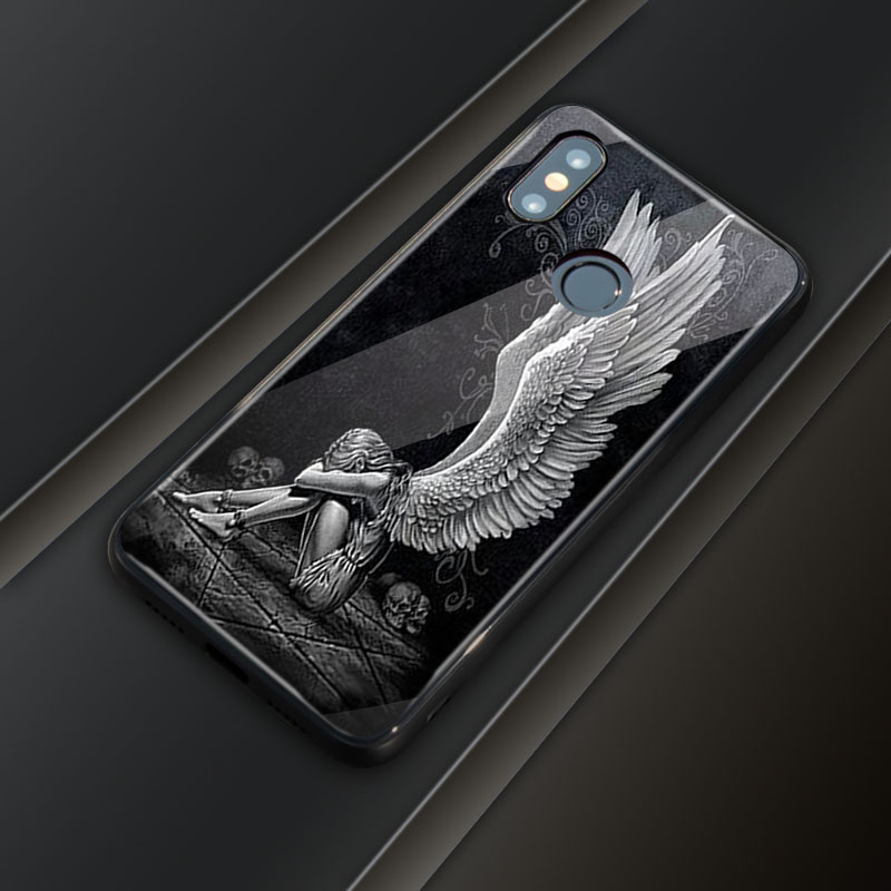 Redmi K20 Pro Case Tempered Glass Cover Redmi K20 Print Photo DIY Customized image Phone glass Case for Xiaomi redmi k20 k20 pro in Half wrapped Cases from Cellphones Telecommunications