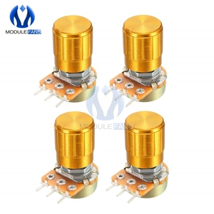 5PCS WH148 Rotary Potentiometer Linear Taper Potentiometer 1K 2K 3K 5K 10K 20K 30K 50K 100K 200K 300K 500K 1M Ohm