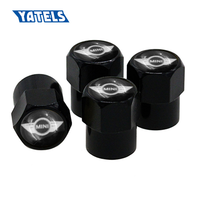 Hot Sale 4pcs Set Car Accessories Wheel Tire Parts Valve Stem Caps
