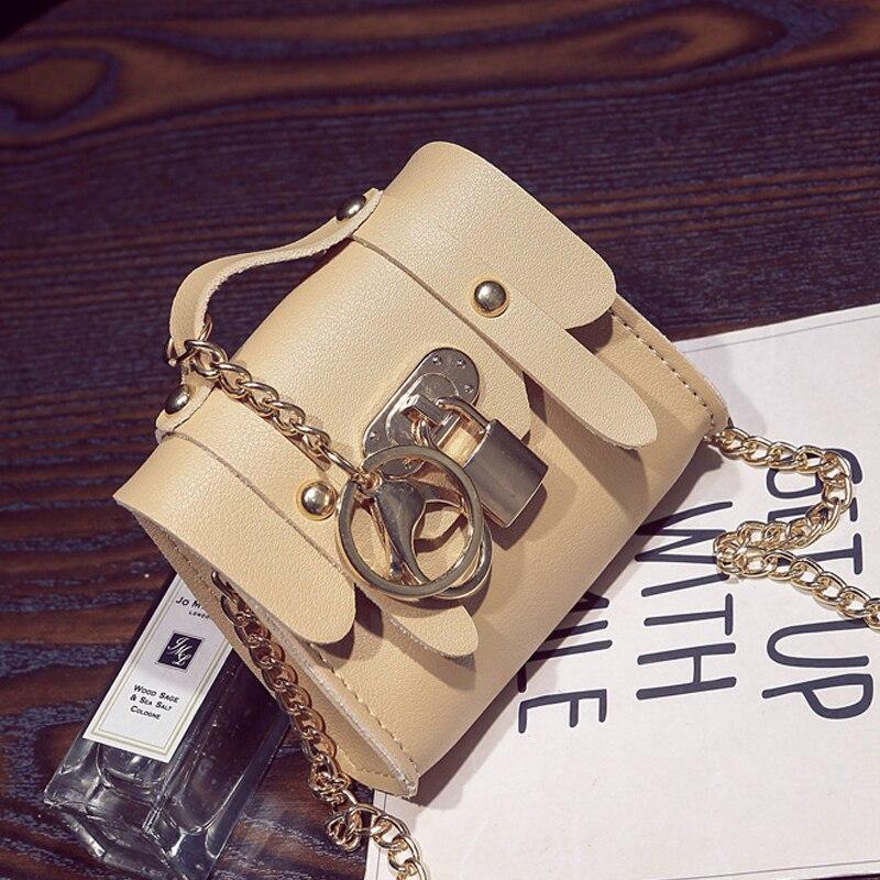 QZH 2017 New Kids Girl Mini Handbags PU Lock Messenger Bags Girl Princess Shoulder Bag Crossbody Coin Purse Pouch Birthday Gift