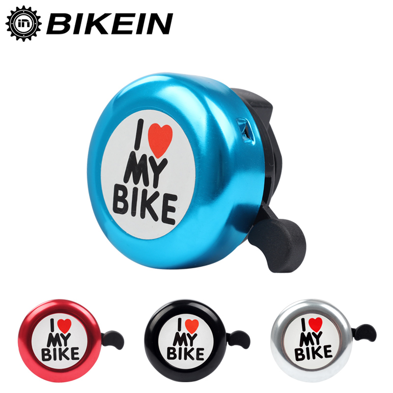 BIKEIN Mountain Bike Bell Super Loud Clearly Sounds Bells Aluminum Cycling MTB Handlebar Horn 31g Bicycle Accessories 4 Colors