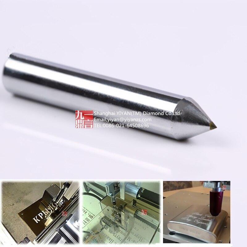 10db / tétel 6 mm átmérőjű 50 mm hosszú 120 fokos gravírozó - Elektromos szerszám kiegészítők - Fénykép 3