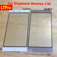 Wholesale 5 5inch Black Gold Original Outer Glass Sensor Lens Touch Screen Digitizer For Elephone Vowney