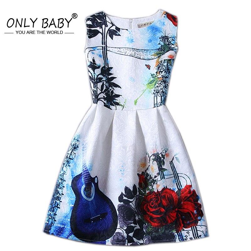 Summer Girl Party Dress Girls Dresses Elsa Princess Sofia