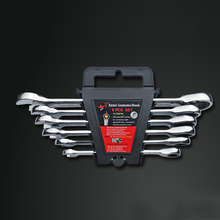 2018 New Time-limited Wrench Set 8.10.12.13.14.17mm Wrench Set Ratchet Spanner 6pcs Adjustable Universal Hand Tool Combination 12pcs set hardware tools tap wrench hand tapping cutter dies metric group 2017 limited time limited carbon steel ratchet