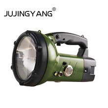 JUJINGYANG Strong light xenon searchlight remote charging hand-held lamp
