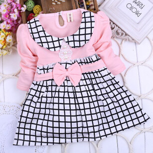 Baby Girl Clothing Kids Toddler Tutu Dresses Autumn Fashion Hot sell Dress 2014