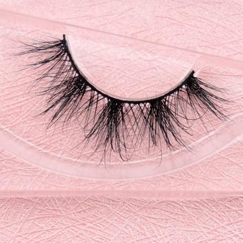 Mink Lashes 3D Mink Eyelashes Handmade Thick Super Quality False Eyelashes 1 pair Fake Eye Lash for Makeup False Eyelash E21 недорого