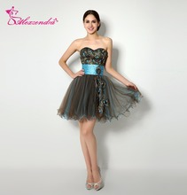 Alexzendra Stock Dress 미니 블랙 스커트 댄스 파티 Dress Up Sweetheart 홈 커밍 드레스 for 소녀
