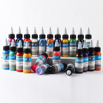 21 Colors Permanent Body Paint Makeup Tattoo Ink Tattoo Color Kit Microblading Pigment Tattoo Artist Ink Set Supplies