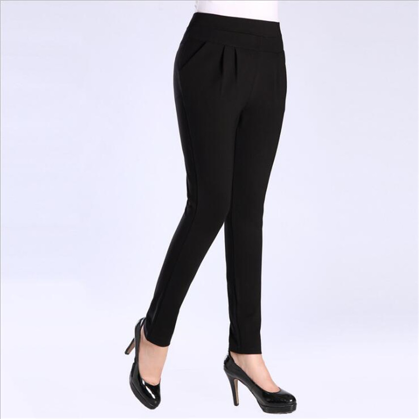 MLCRIYG 2018 nueva moda de pana suelto, de gran tamaño de las mujeres ropa de Haren pantalones lw004
