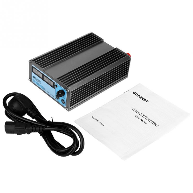 110V US plug DC Power Supply Digital Display Mini Variable Adjustable With Plug CPS 1610 170