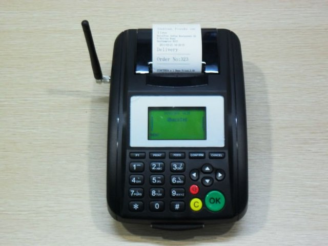 2011 Hotsell SMS Printer,Wireless grps sms printer for remote order printing,used widely in restaurant,bank,taxi,hotel,etc.