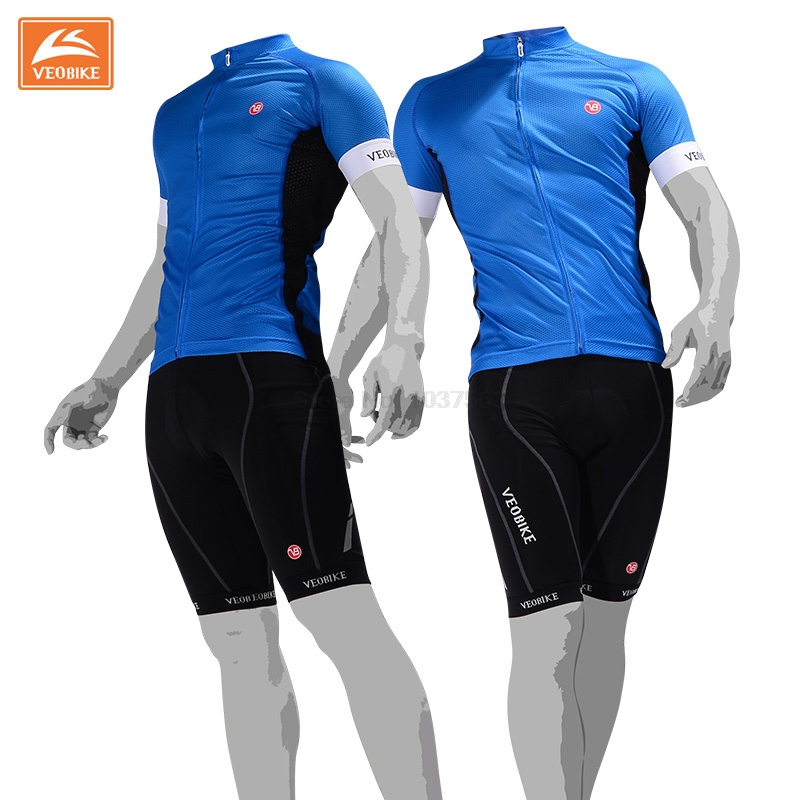 VEOBIKE Pro Cycling Men Jersey Set Top Grade Outdoor Sports Bike Clothing Ropa Ciclismo Shirts Wear Quick Dry Bicycle Jerseys veobike 2017 pro men cycling jersey set breathable mtb clothes quick dry bicycle summer sportswear bike jerseys ropa ciclismo