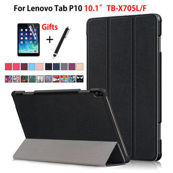 Funda para Lenovo Tab P10 TB-X705L TB-X705F de 10,1 pulgadas Funda inteligente...