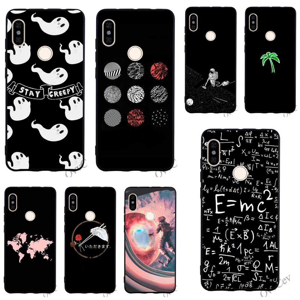 Pattern Outter Space Tree Coffee Phone Cover for Xiaomi Redmi Note 5 Pro Case 4A 5 Plus 5A Prime 4X 6A 6 Cases