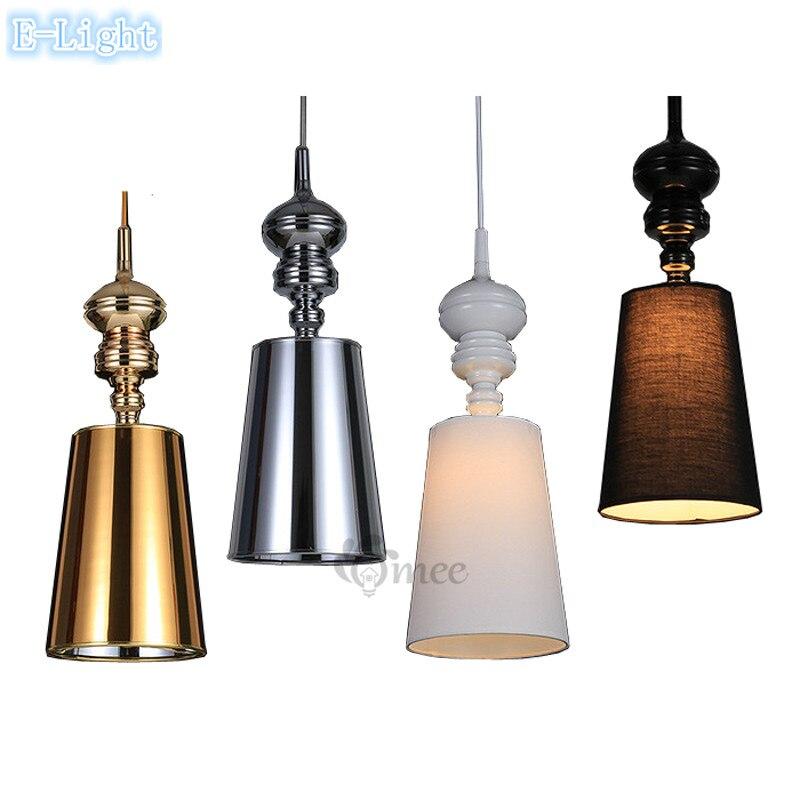 Modern brief pendant lamps dining room pendant lights for Modern white pendant lighting