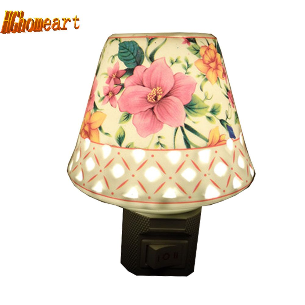 Aroma night lamps - Bedside Lamp Energy Saving Lamp Ceramic Ceramic Aroma Night Light Children S Room Dedicated Ceramic