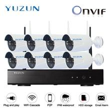 1080P wireless cctv kits 8ch IP Video Security CCTV kits WIFI Surveillance System outdoor indoor cascade mode 2MP CCTV CAM