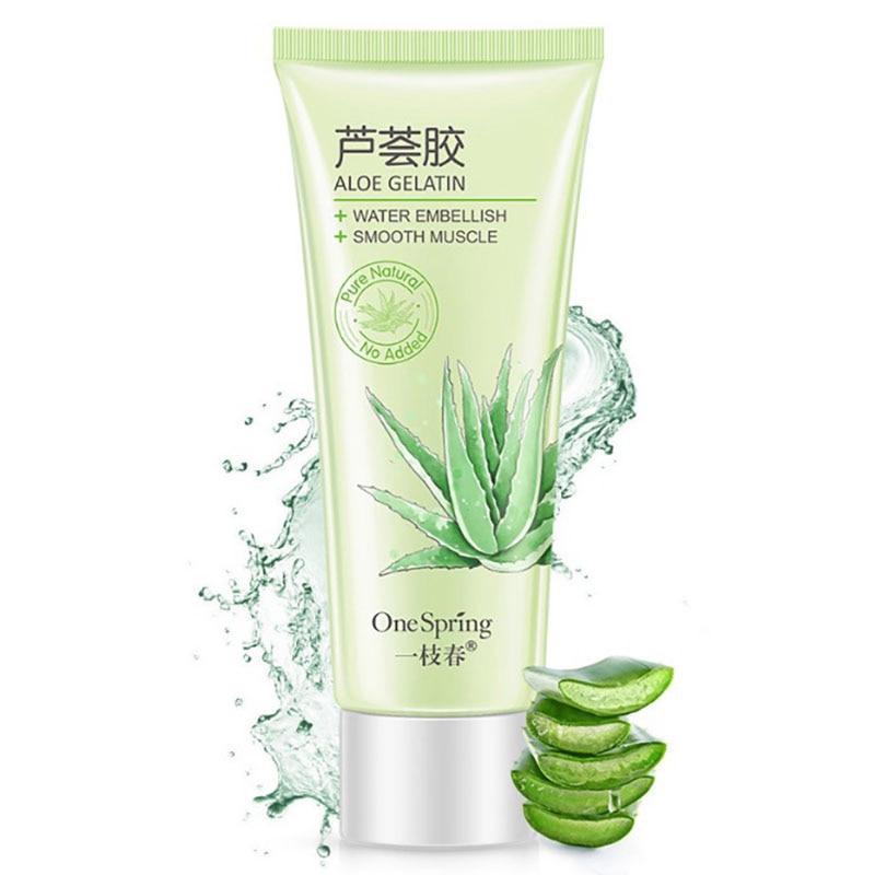 Anti Acne Treatment Aloe Soothing Gel Serum Aloe Vera Gel Skin Care Remove Acne Moisturizing Day Cream Sunscreen Aloe Ge