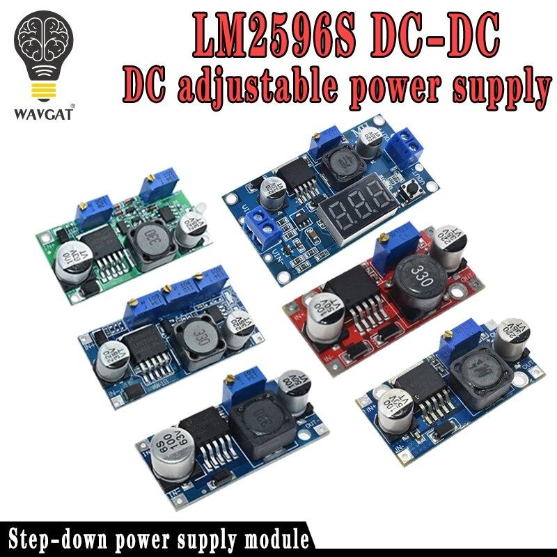 High Quality 3A Adjustable DCDC LM2596 LM2596S Input 4V-35V Output 1.23V-30V DC-DC Step-down Power Supply Regulator Module