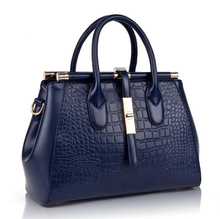 PU Leather Bag Women Messenger Bags Handbags Women Famous Brands 2016 Crocodile Shoulder Bag High Quality Women Bag Bolsos